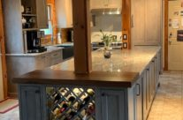 Kitchen Island Wine Cooler