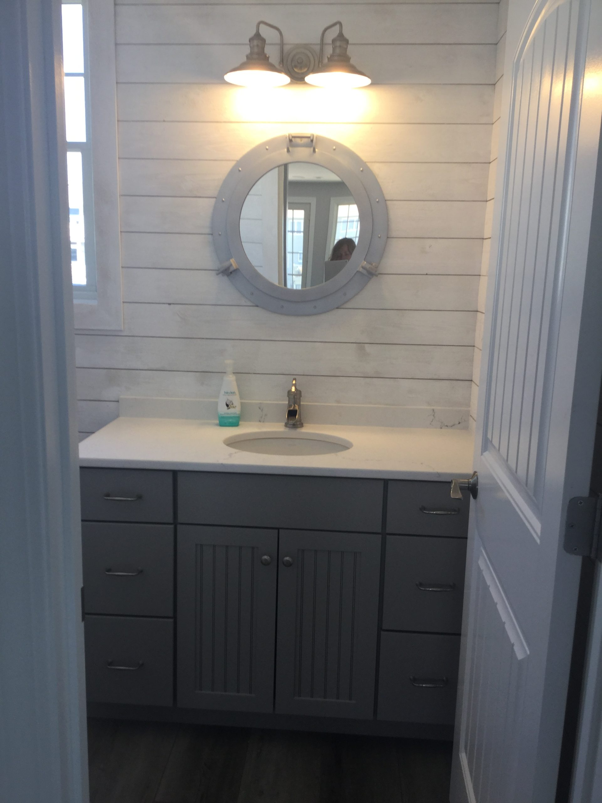 Farmhouse Powder Room