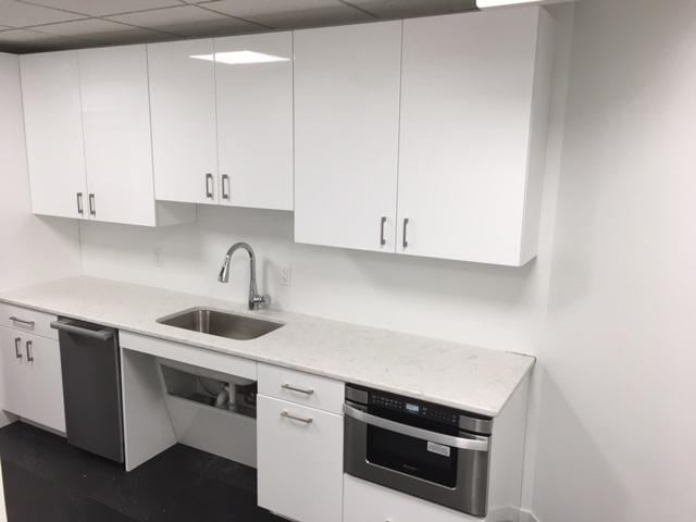 Corporate Office Kitchen Sink